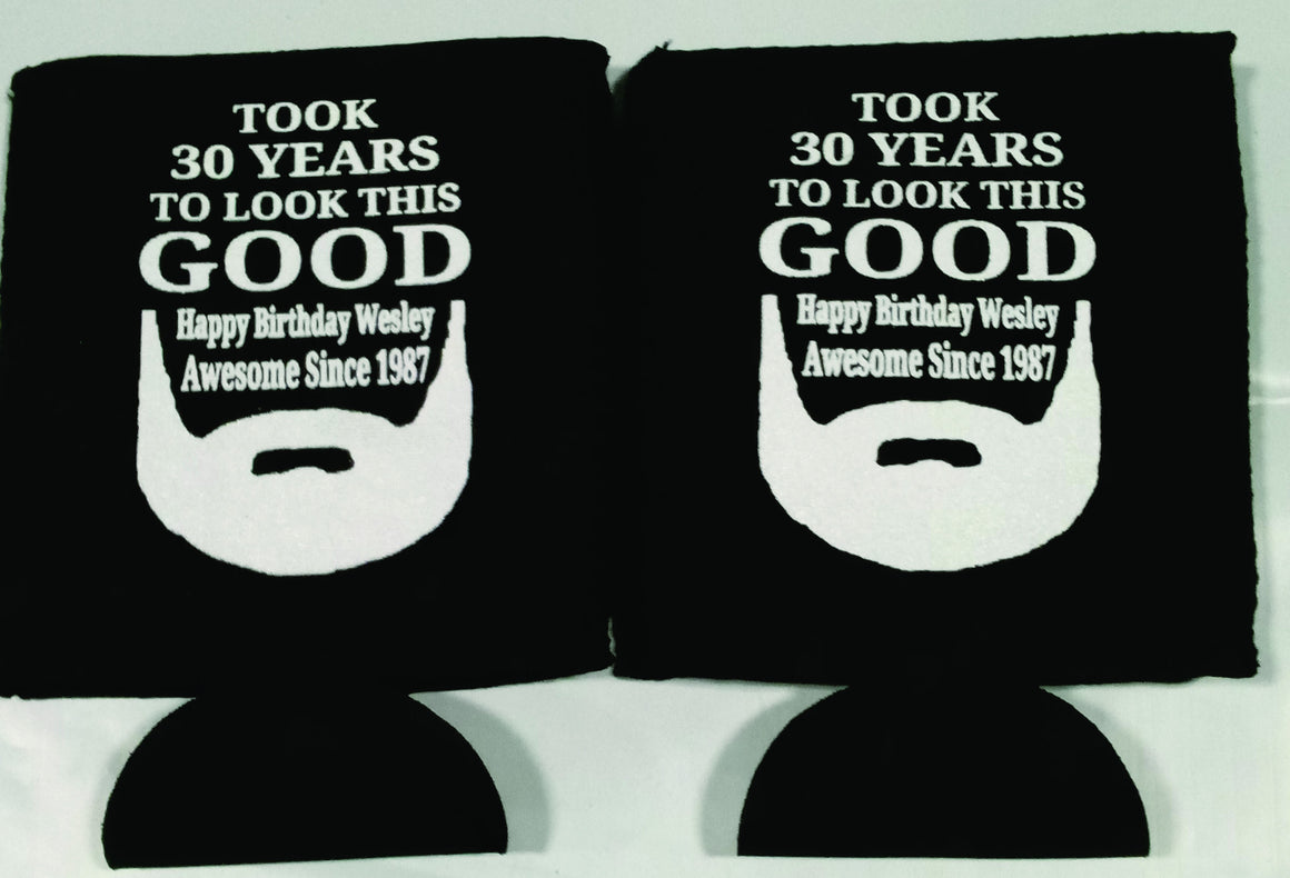 it took 30 years to look this good Koozies can coolers 12915223