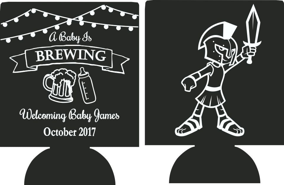 Baby is brewing Trojan Koozie bottle Can Coolers SP1525-2