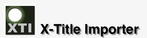 X-Title Importer