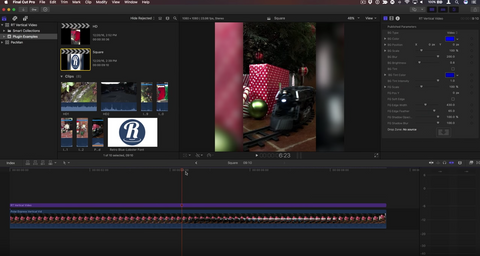 Final Cut Pro X in Under 5 Minutes: Improving Vertical Videos in FCP X