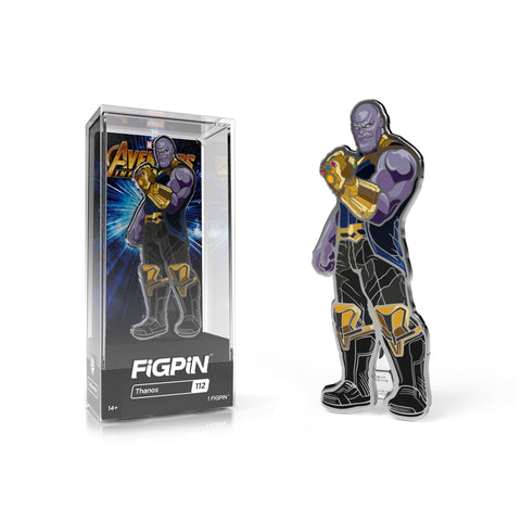 FiGPiN Marvel Avengers Infinity Wars Thanos