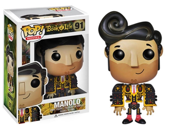 Pop! Movies Vinyl The Book of Life Manolo