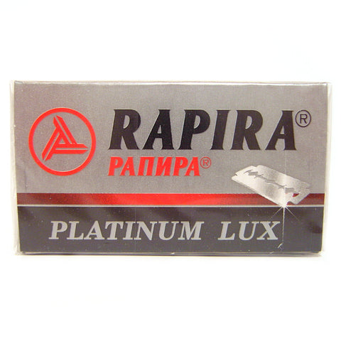 Rapira Platinum Lux Double Edge Razor Blades - Pack of 5