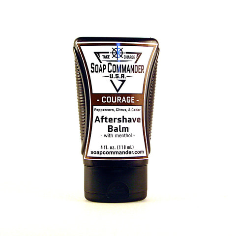 Soap Commander Aftershave Balm - Courage