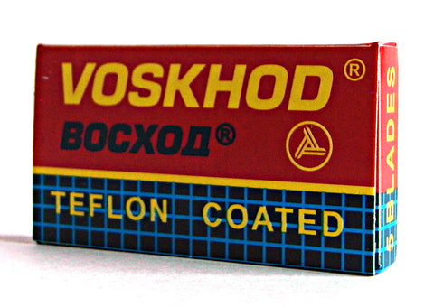 Voskhod Teflon Coated Double Edge Razor Blades - Pack of 5