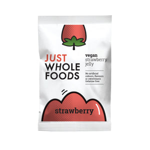 Just Wholefoods Raspberry Jelly Crystals 85g