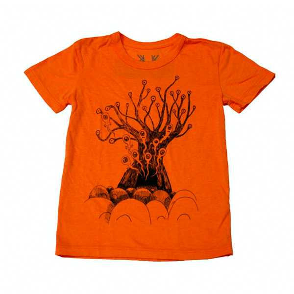 ORANGE REPLACEMENT TREE KIDS T-SHIRT