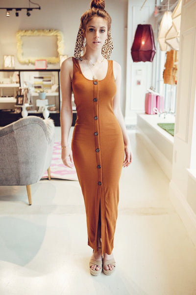 Terracotta Babe Boho Dress