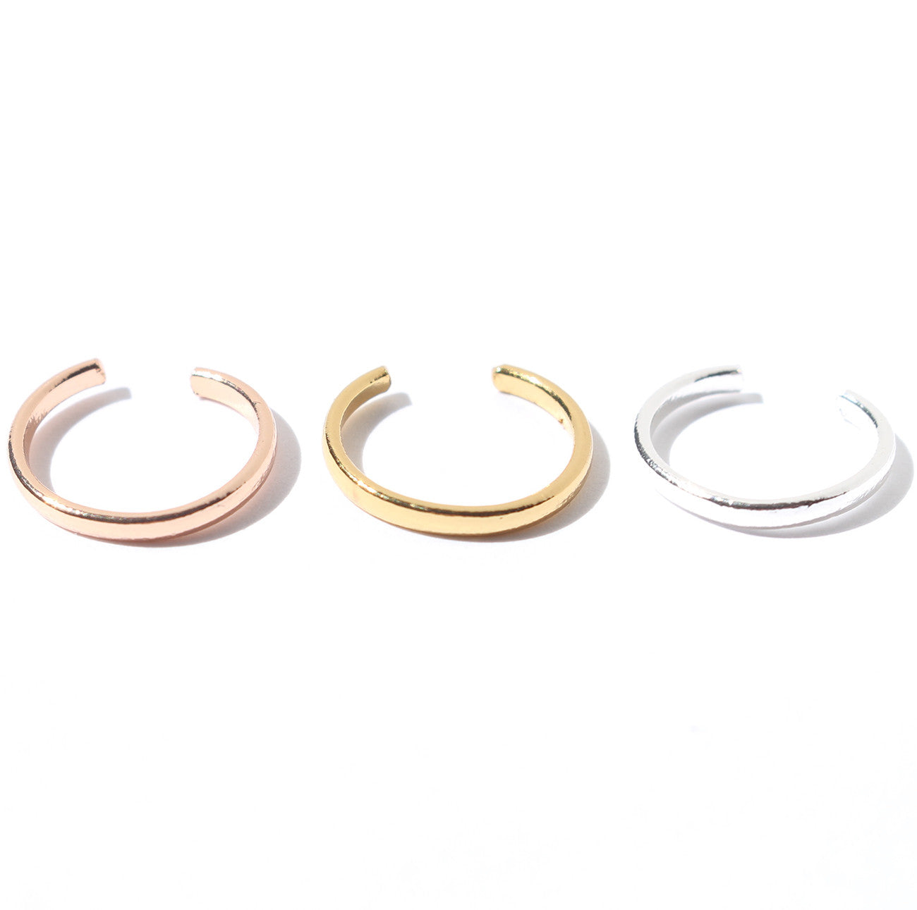 Jenny Bird Cleo Ear Cuff in Rose Gold, Gold and Silver