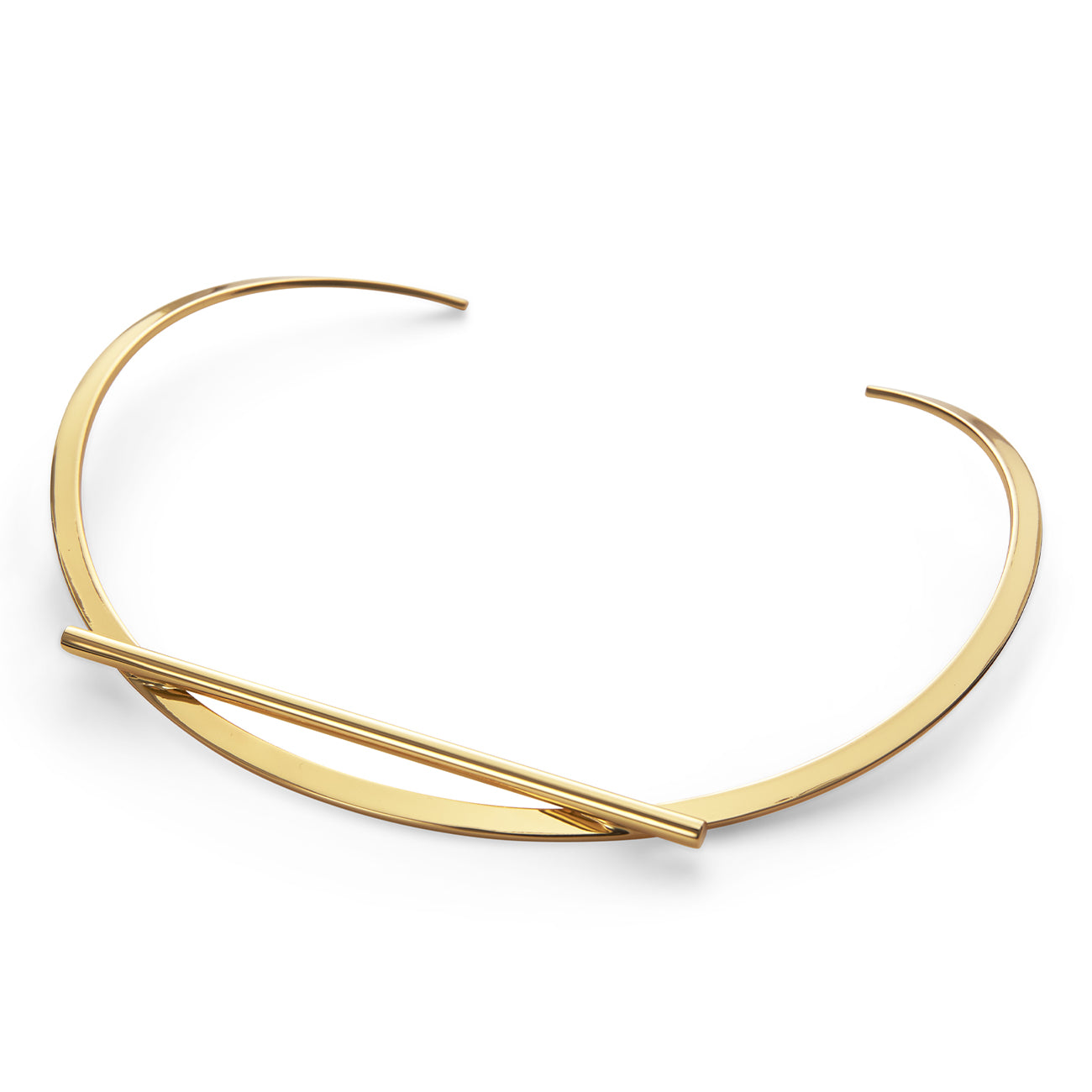 Trust Collar by Jenny Bird in Gold