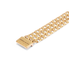 Gold layered chain Walter Cuff bracelet by JENNY BIRD