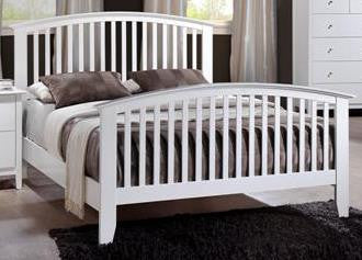 Lawson White Bed