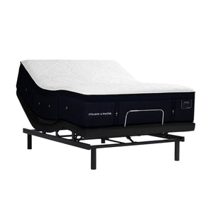 Stearns & Foster Pollock Luxury Cushion Firm Mattress on an Adjustable Base