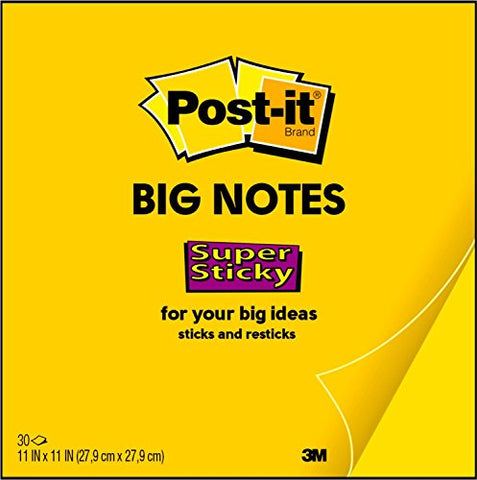 Post-it Super Sticky Big Notes