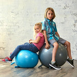 Gaiam Kids Stay-N-Play Children's Balance Ball - Flexible School Chair, Active Classroom Desk Seating with Stay-Put Stability Legs, Includes Air Pump