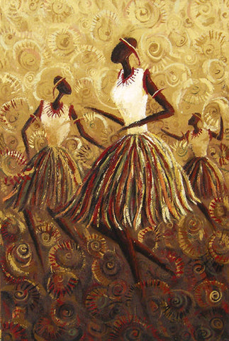 Three Dancers -Original *** $pecial Offer***