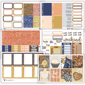 WK046 // I Do Collection // Planner Stickers