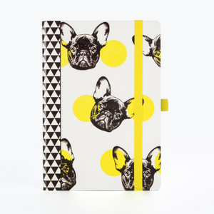 Dog Dot Grid Notebook