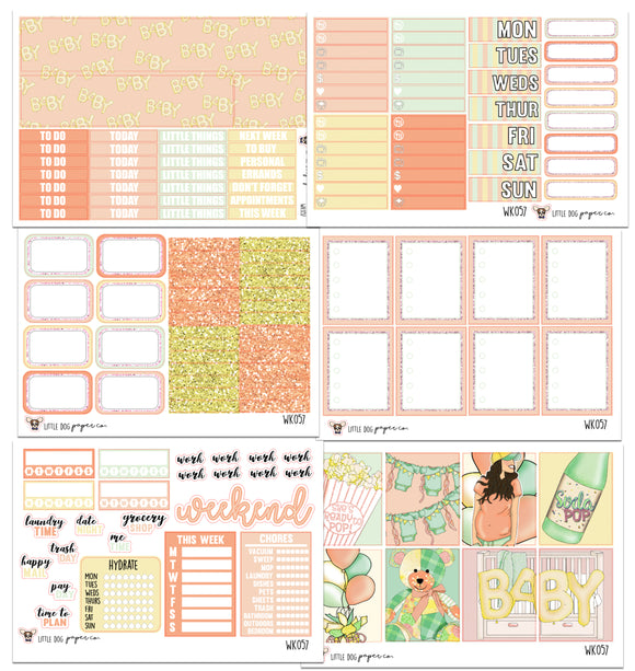 WK057 // Little One Collection // Planner Stickers