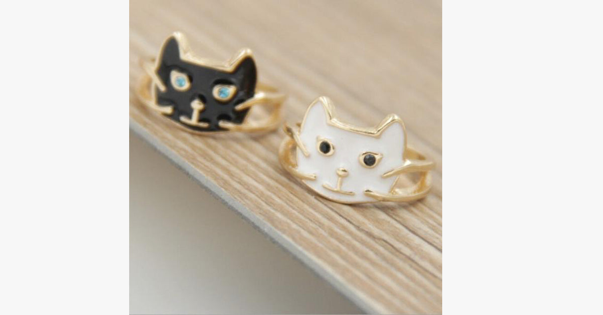 Simple All-match Cat Ring