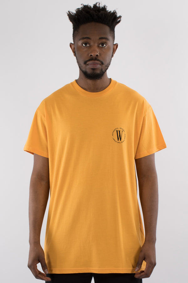 ROUTINE CUSTOM FIT TEE - YELLOW