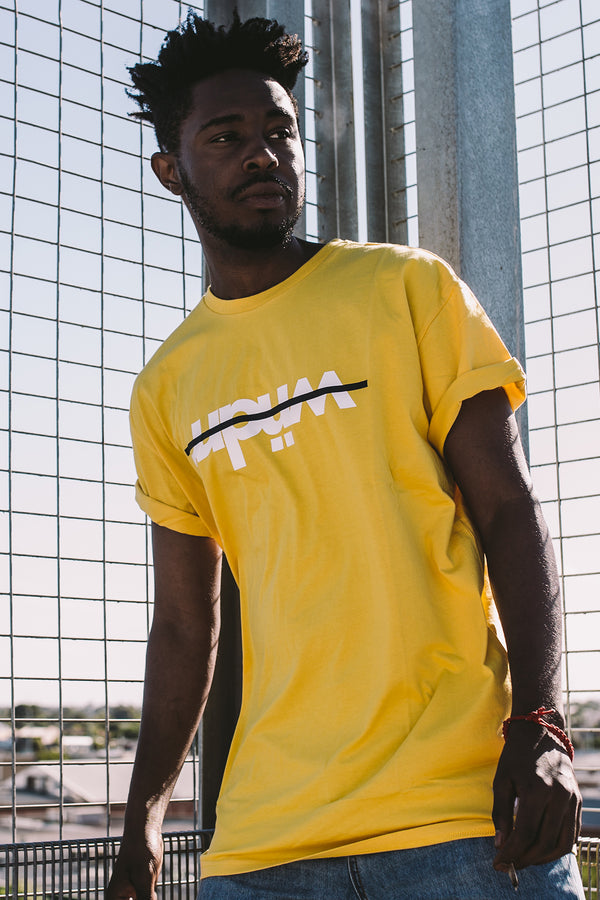 OVERPASS CUSTOM FIT TEE - YELLOW