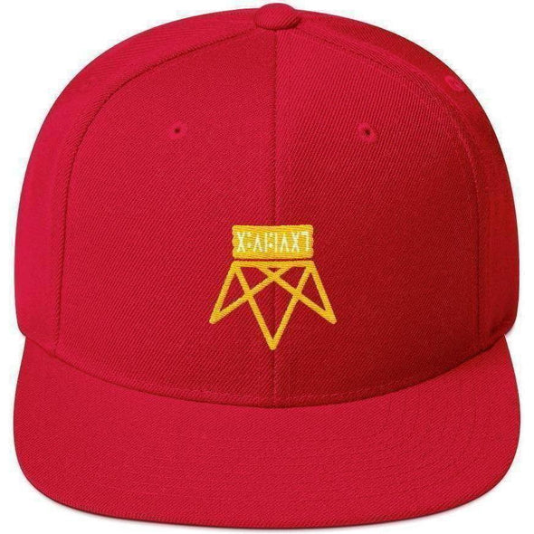 Upside Down Snapback Hat