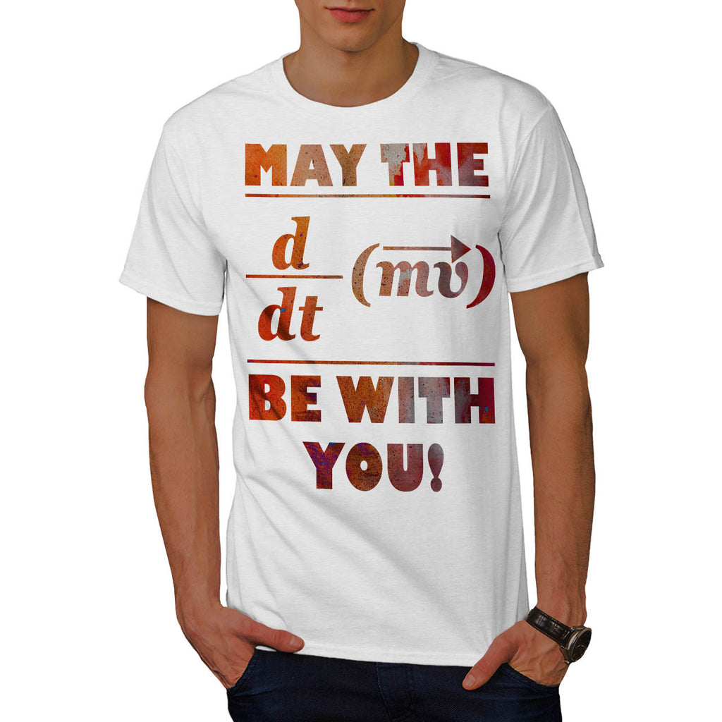 Force Math Formula Mens T-Shirt