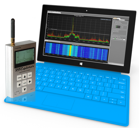 Clear Waves -- RF Spectrum Analyzer And Frequency Coordination -- Software Only
