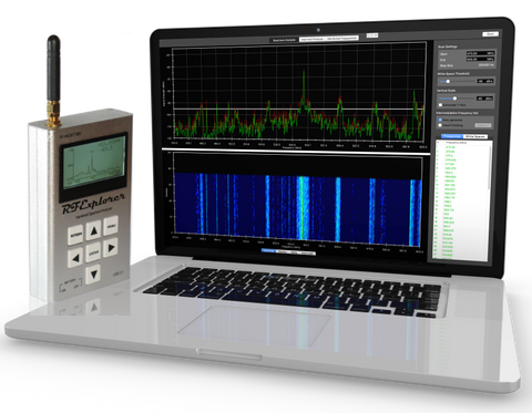 Clear Waves For MacOS -- RF Spectrum Analyzer And Frequency Coordination -- Bundle #9 (WSUB1G+)