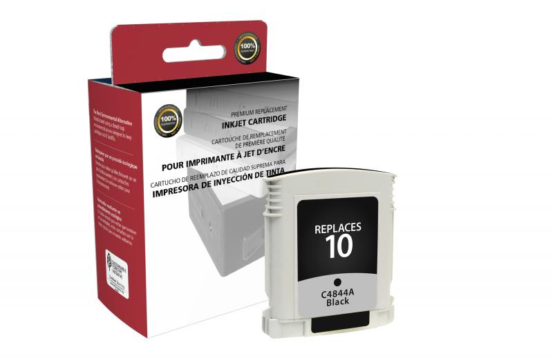 CIG Remanufactured Black Ink Cartridge for HP C4844A (HP 10)