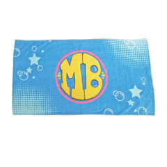 Mighty Bubble Superhero Towel Cape and Bath Time Mask