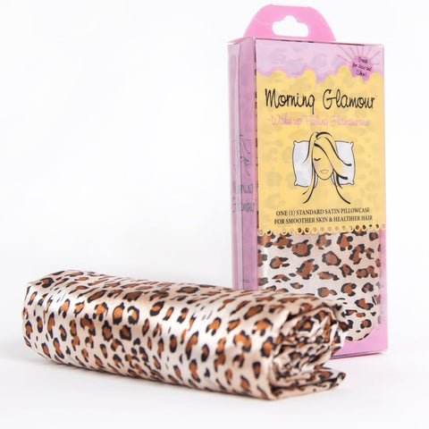 Morning Glamour - Leopard Satin Pillowcase Single