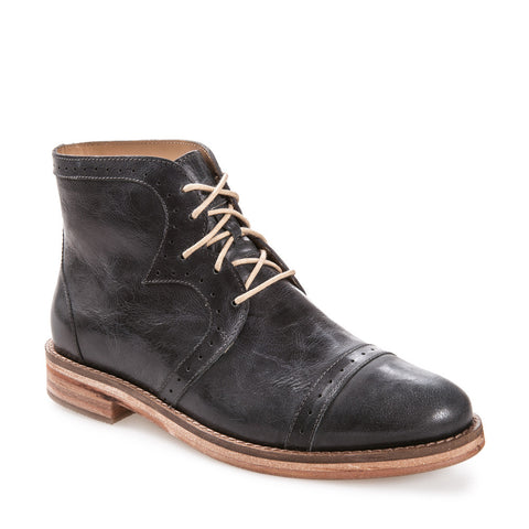 Women's Sarah Indigo Leather Lace Up Boot