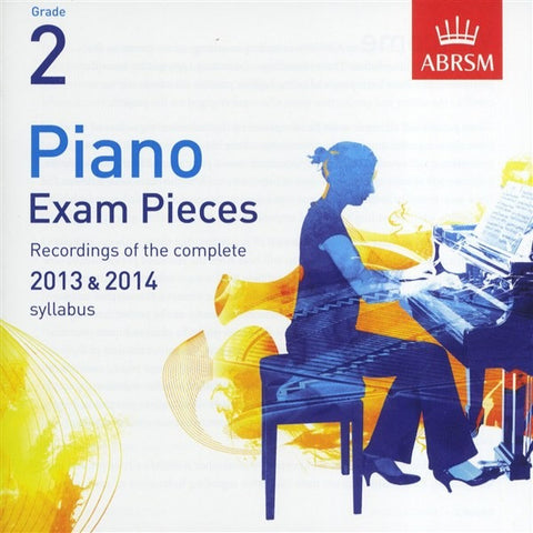 ABRSM Piano Exam Pieces 2013-2014 - Grade 2 - CD Only