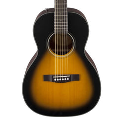 Fender CP100 Parlor Size Acoustic Guitar in Sunburst