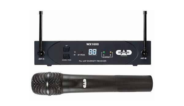 CAD Stagepass WX1600 Handheld Mic System