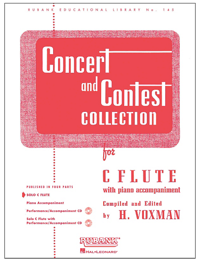 Hal Leonard Concert And Contest Collections for C Flute Solo Part Only