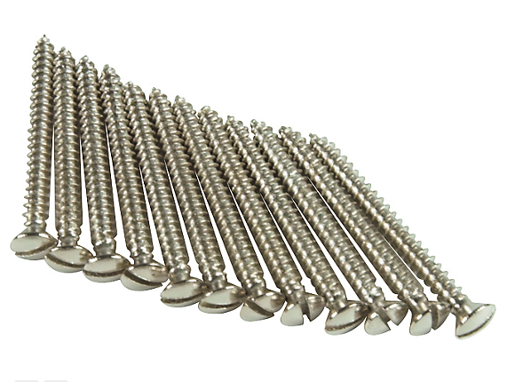 Fender Neck Mounting Screws Slotted Head