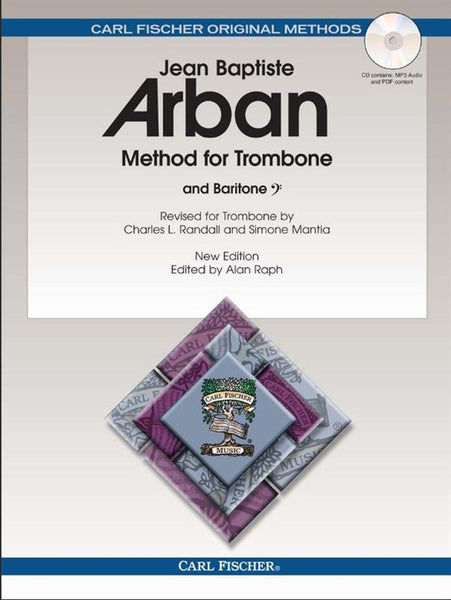 Carl Fischer Arban Method for Trombone Book