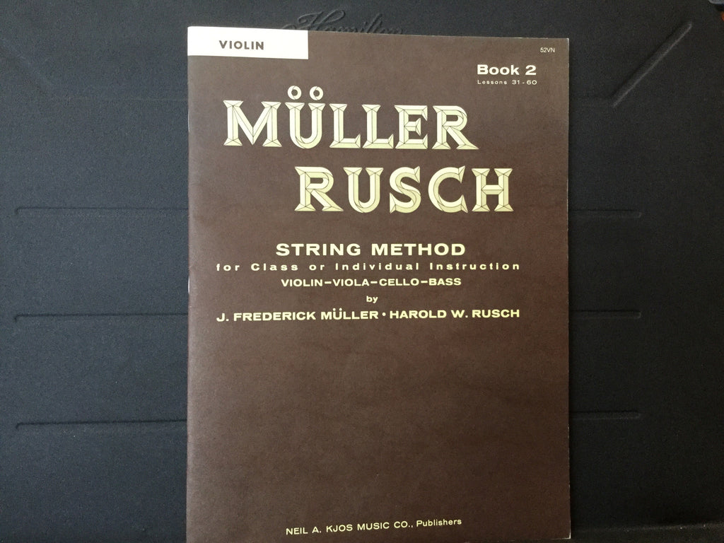 Muller Rush String Method Book 2