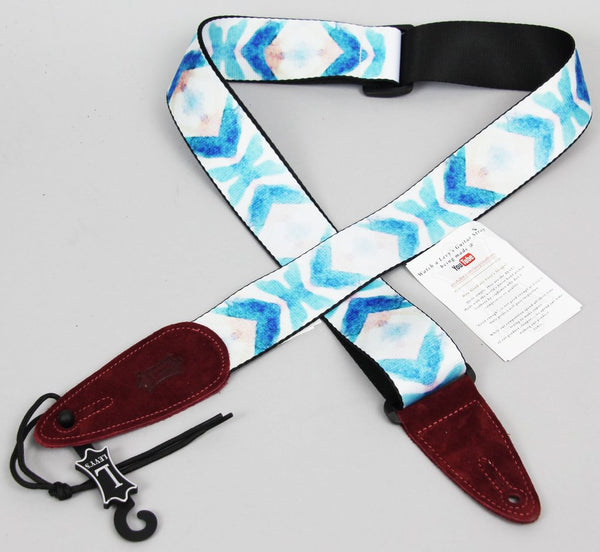 "Levy's MPSDS2-007 Polyester Sublimation 2"" Guitar Strap"