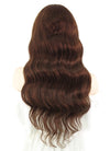 "20"" Long Curly Vibrant Auburn Lace Front Remy Natural Hair Wig HH109 - wifhair"