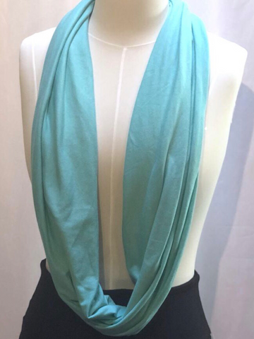 Bamboo Infinity Scarf - Solid Colours