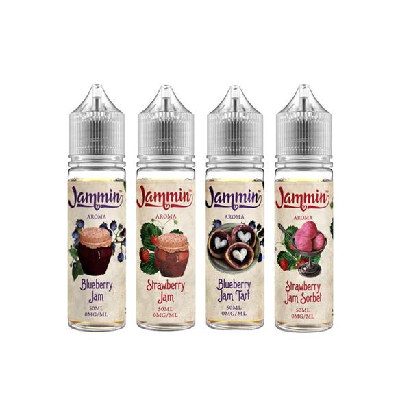 Jammin 0MG 50ml Shortfill E-Liquid