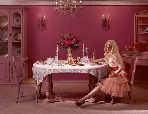 """DINING ALONE"" DINA GOLDSTEIN"