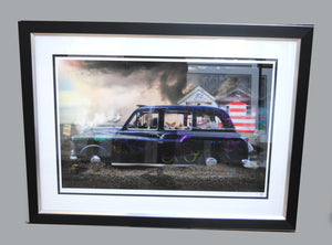 """Jolly Holiday"" by JJ Adams (FRAMED limited edition print)"