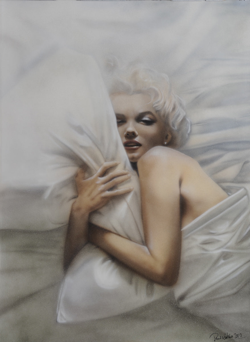 Paul Karslake FRSA - Marilyn Monroe (Let it Snow) - Limited Edition Artist Proof