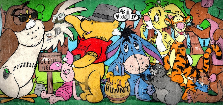 JJ Adams - Hundred Acre Weed - Limited Edition Print