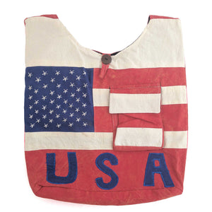 USA Cotton Shoulder Bag
